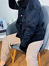 Женский вельветовый бомер оверсайз (р 42-46) 3kur333, фото 2