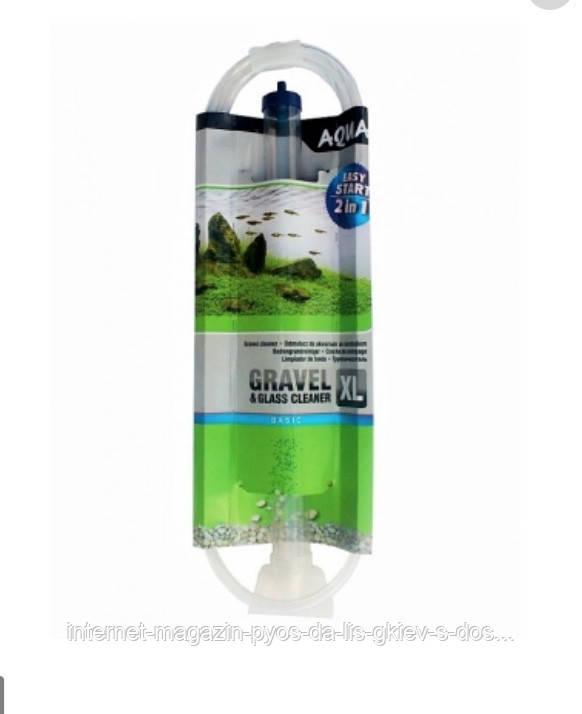 Aquael Gravel & Glass Cleaner XL сифон для грунту