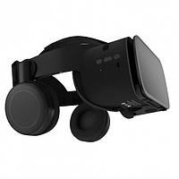 Очки виртуальной реальности BOBO VR Z6 Bluetooth с беспроводными наушниками Черные