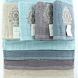 Полотенце махровое для тела, полотенца из махра для рук 50x100см, фото 5