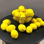 Лимон искусственный 1:1 10 см, фото 3