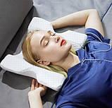 Ортопедическая подушка Туннель Memory Foam Pillow, подушка с памятью туннель, фото 2
