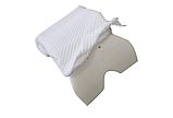 Ортопедическая подушка Туннель Memory Foam Pillow, подушка с памятью туннель, фото 6