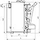 Пелетний комплект котел з бункером автоматичною подачею ALtep Duo Uni Pellet потужністю 33 кВт, фото 5