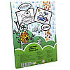 Набор для творчества Strateg Foil World, аппликация из фольги, Мишка-водитель, фото 3