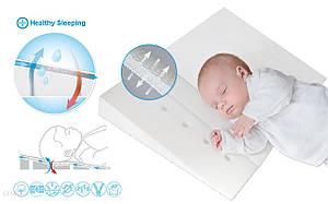 Подушка для младенцев Baby matex, ортопедическая 60×36 KlinAir