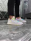 Мужские кроссовки Adidas Nite Jogger White Reflective рефлектив, кроссовки адидас найт джоггер, фото 8