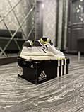 Мужские кроссовки Adidas Nite Jogger White Reflective рефлектив, кроссовки адидас найт джоггер, фото 3