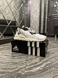 Мужские кроссовки Adidas Nite Jogger White Reflective рефлектив, кроссовки адидас найт джоггер, фото 2