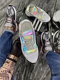 Мужские кроссовки Adidas Nite Jogger White Reflective рефлектив, кроссовки адидас найт джоггер, фото 6