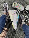 Мужские кроссовки Adidas Nite Jogger White Reflective рефлектив, кроссовки адидас найт джоггер, фото 5