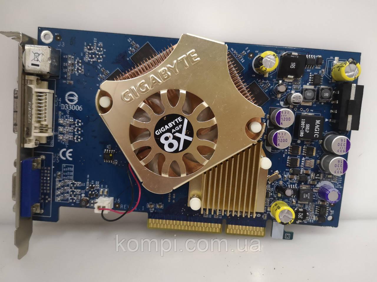 Видеокарта NVIDIA 6600GT 128mb  AGP