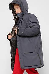 Детская зимняя куртка парка для мальчиков X-Woyz 8315 размеры 28 ,30 Цвет нави