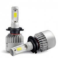Автолампы HeadLight S2 H7 LED. Светодиодные лампы Global solution серии CSP S2