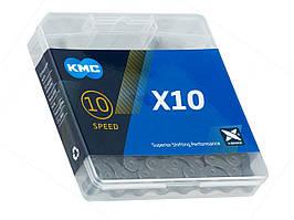 Цепь KMC X10 Gray (X10.73)(10 скоростей)