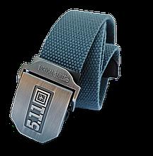 Пояс-стропа самосброс «5.11 Tactical Series» серый 110-130 см