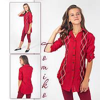 Женская рубашка - туника, фото 1