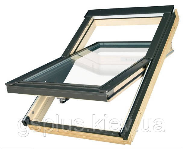 """Панорамное окно на мансарду Velux Velux GZL 1059 """"Эконом"""" 94х118"""