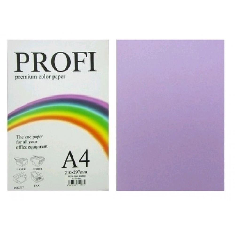 Папір для друку кольоровий 80г/м2, PROFI, насичений фіолетовий