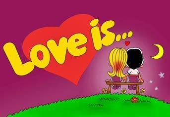 """Вафельна картинка  """"Love is"""""""
