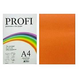 Бумага для печати цветной 80г / м2, PROFI, насыщенный оранжевый