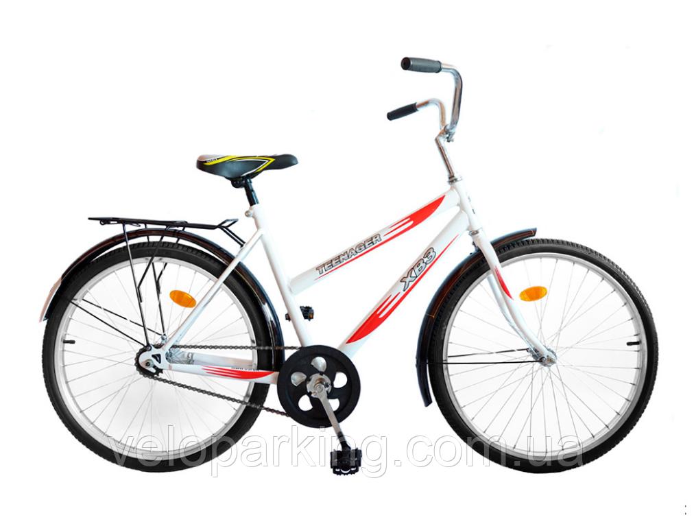 Городской дорожный велосипед 24 Teenager ХВЗ Харьков