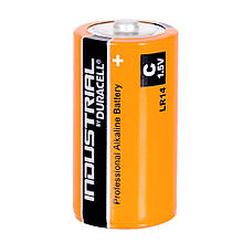 Батарейка Duracell Industrial С, LR14, 7800 mAh