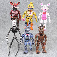 Аниматроники Игрушки, 5 ( пять ) ночей с Фредди / Funko Five Nights at Freddy , 6 шт