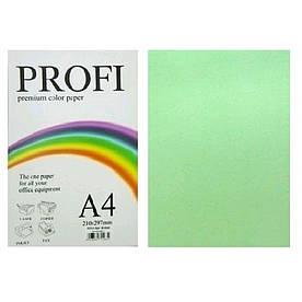 Бумага для печати цветной 80г / м2, PROFI, зеленый
