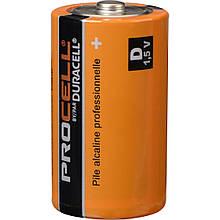 Батарейка Duracell Industrial D, LR20, 17000 mAh