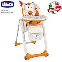 Стульчик для кормления Chicco - Polly 2 Start (79205.96) Fancy Chicken