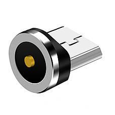 Магнитный кабель TOPK 3в1 (LZ) для зарядки (100 см) Green, фото 3