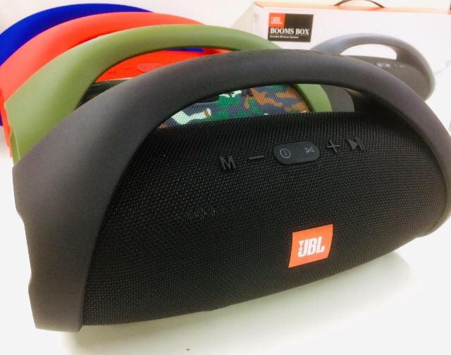 Колонка портативная JBL BOOMBOX ART-0101 BIG с пластиковой ручкой и USB+SD+ Bluetooth ( 16 шт/ящ)