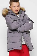 Детская зимняя куртка для мальчиков ТМ X-Woyz 8316 размеры 110- 158