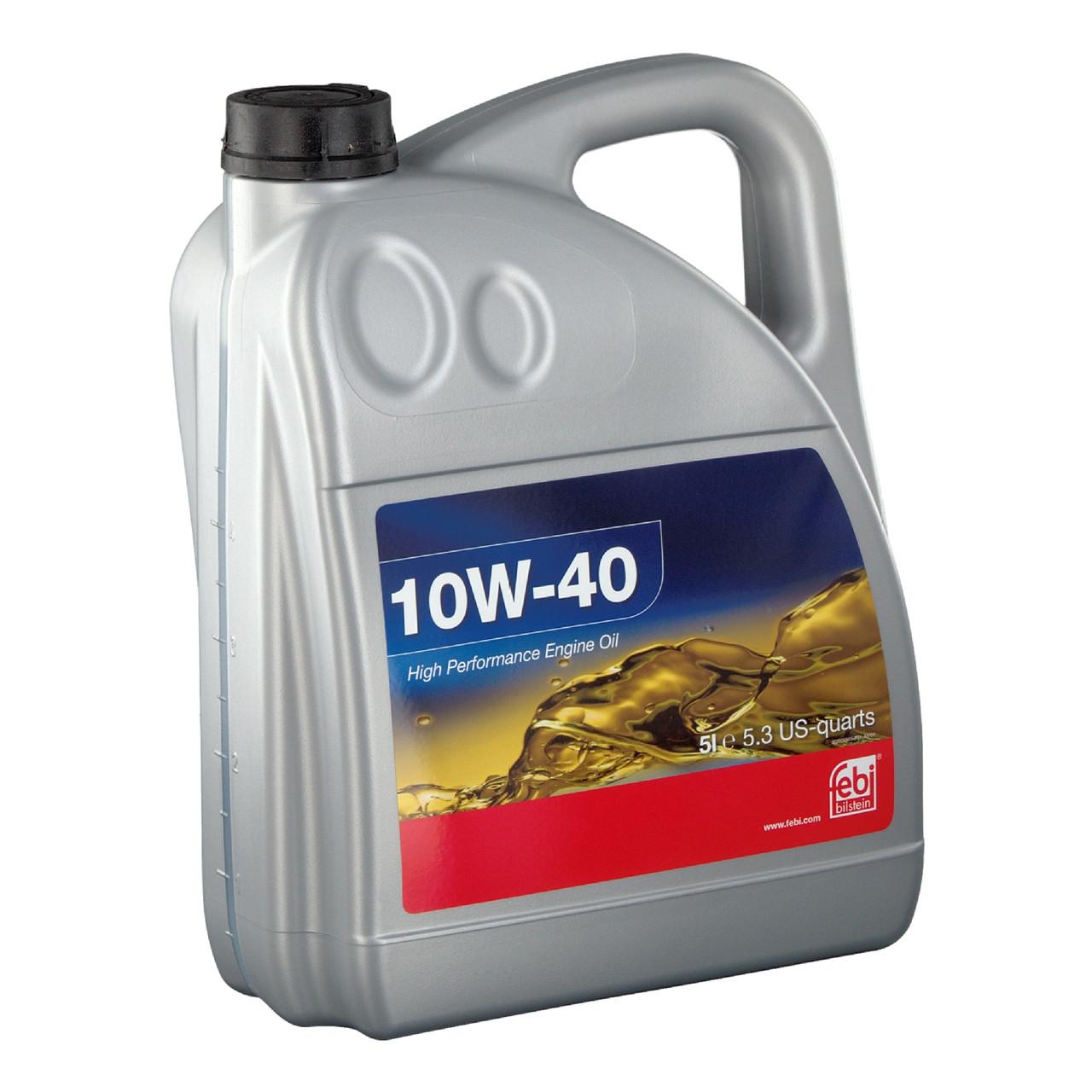 Моторное масло FEBI BILSTEIN SAE 10W-40 (5л) API SL/CF, ACEA A3/B4