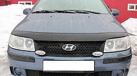 Дефлектор капоту, мухобойка Hyundai Matrix 2000-2008