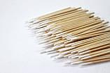 Ватні палички дерев'яні ультратонкі, фото 2