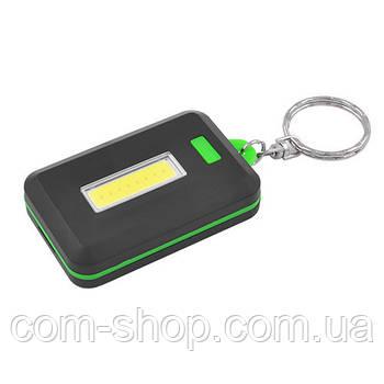 Фонарь мини светодиодный брелок карманный 5833-COB, 3xAAA