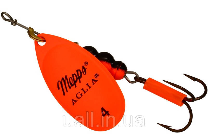 Блешня обертова MEPPS AGLIA FLUO orange №4-bc