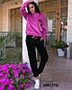 Спортивный женский костюм из турецкого велюра 1081 (75), норма и батал, фото 5