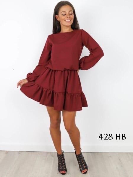 Красивое женское платье 428 НВ, три цвета