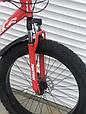 Велосипед ФЕТБАЙК Спорт 26 дюймов Горный спортивный велосипед FatBike 215 КРАСНЫЙ Внедорожник Fat Bike, фото 5