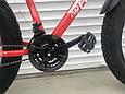 Велосипед ФЕТБАЙК Спорт 26 дюймов Горный спортивный велосипед FatBike 215 КРАСНЫЙ Внедорожник Fat Bike, фото 7