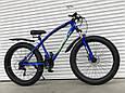 Велосипед ФЕТБАЙК Спорт 26 дюймов Горный спортивный велосипед FatBike 215 САЛАТОВЫЙ Внедорожник Fat Bike, фото 2