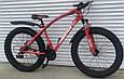 Велосипед ФЕТБАЙК Спорт 26 дюймов Горный спортивный велосипед FatBike 215 САЛАТОВЫЙ Внедорожник Fat Bike, фото 4