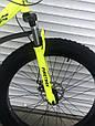 Велосипед ФЕТБАЙК Спорт 26 дюймов Горный спортивный велосипед FatBike 215 САЛАТОВЫЙ Внедорожник Fat Bike, фото 5