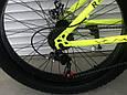 Велосипед ФЕТБАЙК Спорт 26 дюймов Горный спортивный велосипед FatBike 215 САЛАТОВЫЙ Внедорожник Fat Bike, фото 7