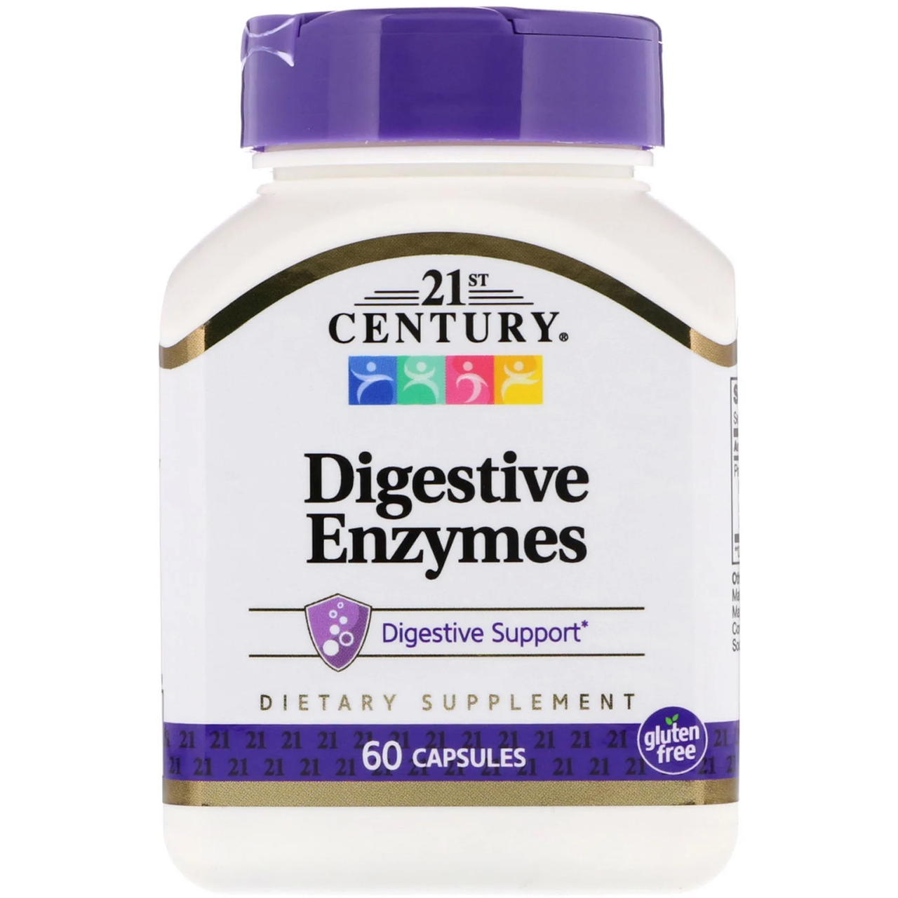 Digestive Enzymes 21st Century 60 капсул