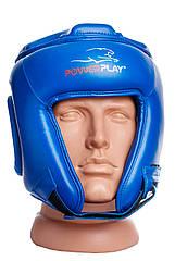 Боксерский шлем турнирный PowerPlay 3045 cиний M