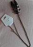 Цепочка кулон подвес- муха насекомое овод шмель металл крупная, фото 8